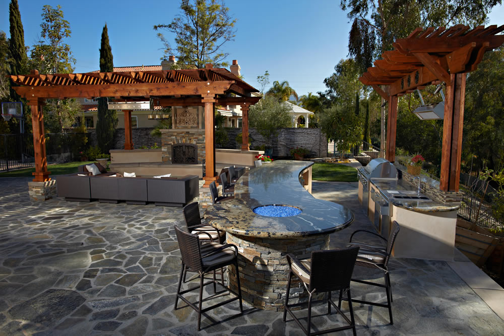 Deck and Patio Gallery - Island Construction Contractor ... on Backyard Patio  id=92754