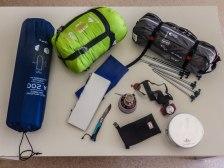 le matériel pour l'islande à vélo