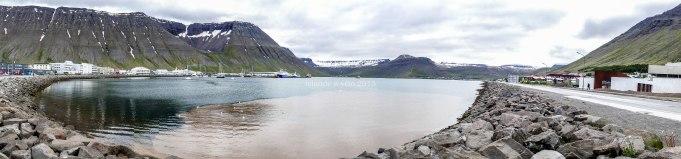 islande à vélo, isafjordur durant l'été 2015
