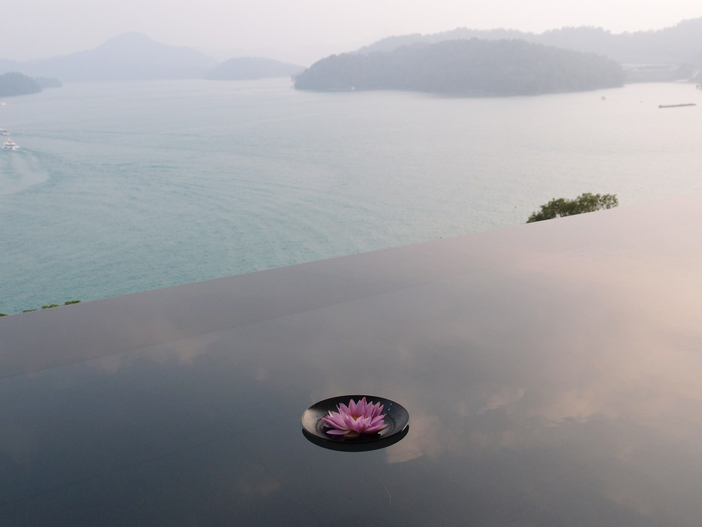 Photo: Overlooking Sun Moon Lake in Taiwan