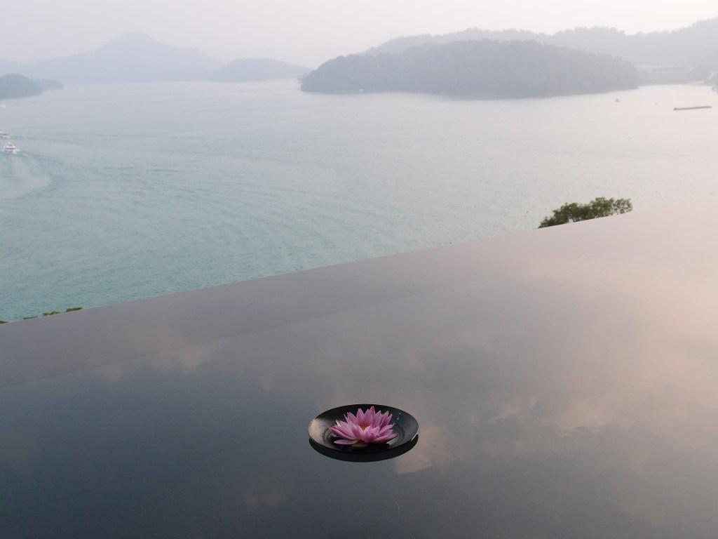 Photo: Overlooking Sun Moon Lake in Taiwan