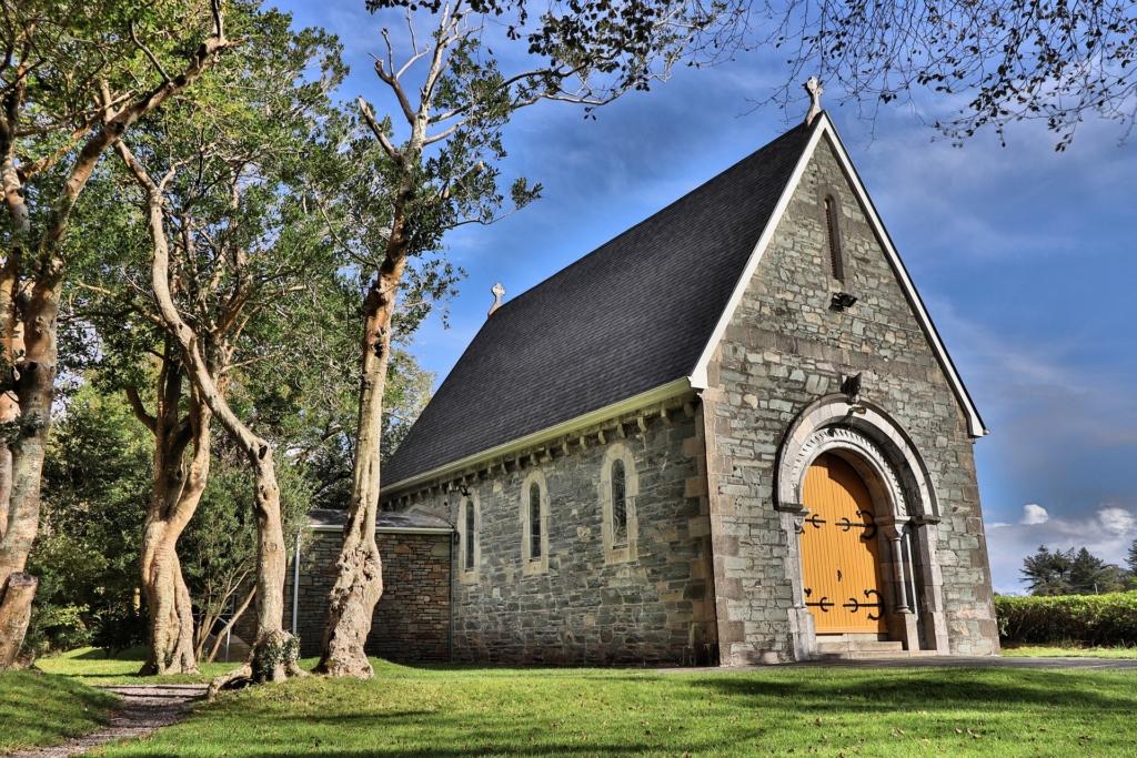Photo: Small church