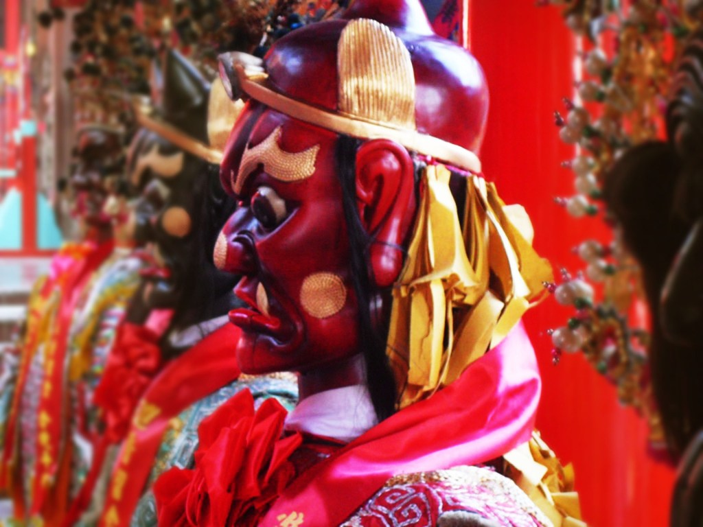 Photo: Taiwanese statues of demons