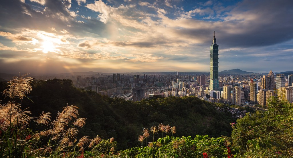 Photo: Overlooking Taipei 101 and Taipei city