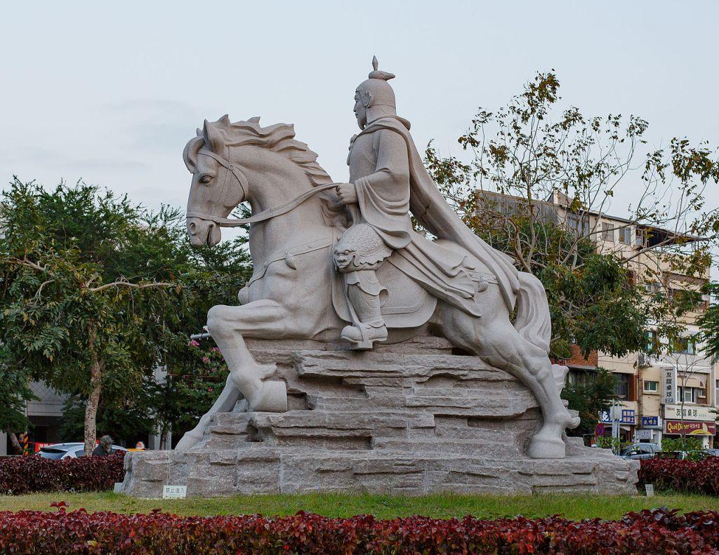 Equestrian statue of Koxinga in Tainan City, Taiwan