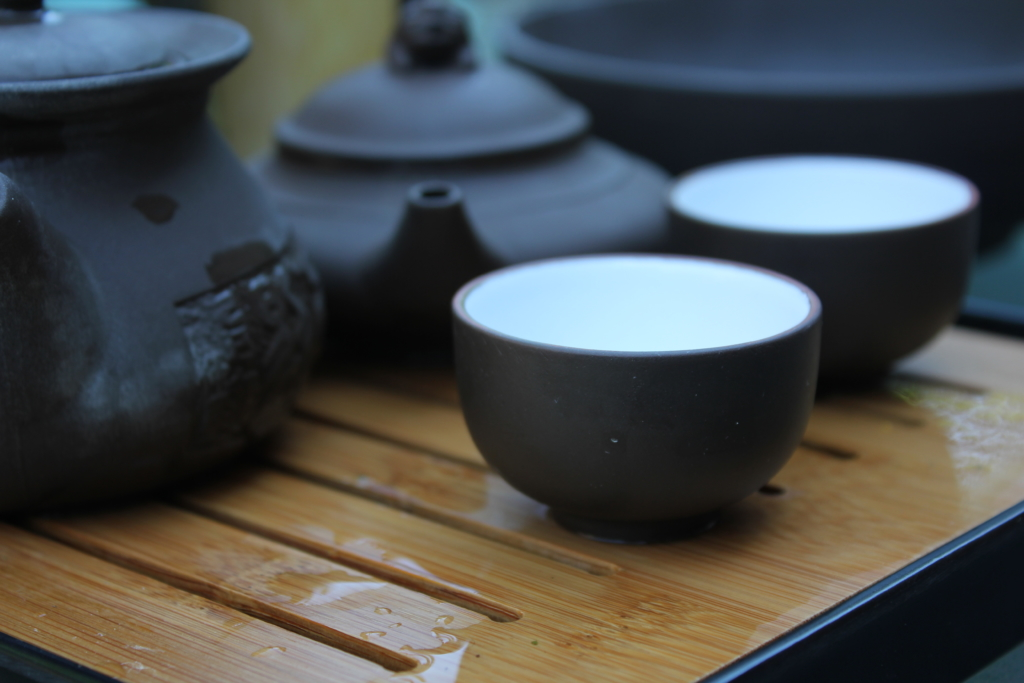 Photo: Traditional Taiwanese teaset