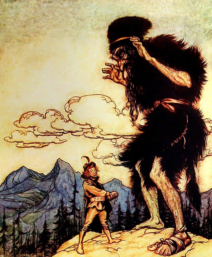 Illustration: Fairytale giant