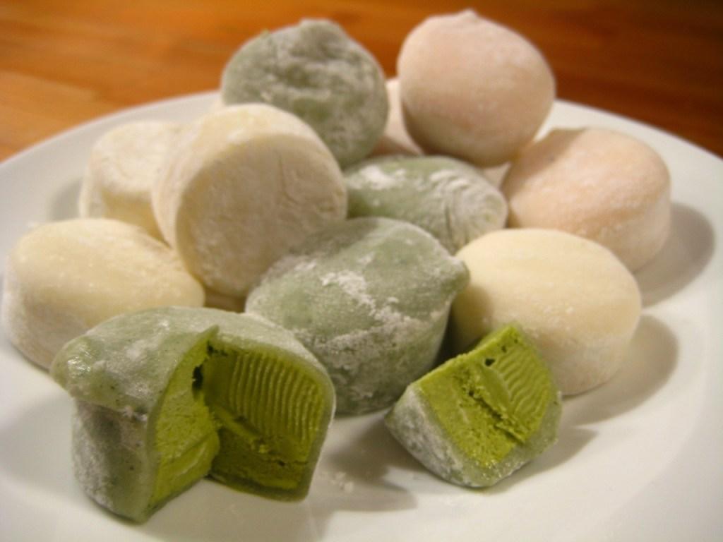 Photo: Mochi rice cakes