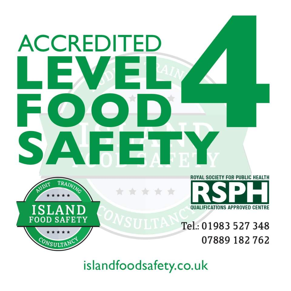 Level 4 Award in Managing Food Safety and Hygiene (Catering) training courses