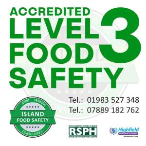 isle-of-wight-supervising-food-safety-training-level-3-island-food-safety-october-2017