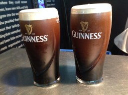 Freshly Poured Guinness