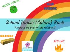 School House Color Rock Rainbow