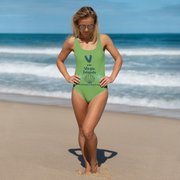 Virgin Islands Swimsuit Green