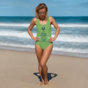 Virgin Islands Swimsuit Green