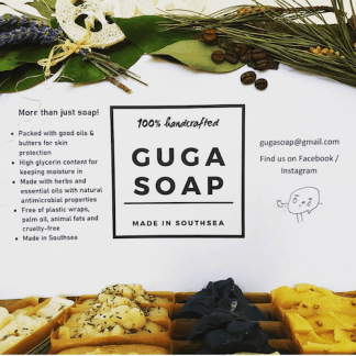 Handcrafted soaps from Guga Soap