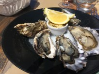 Oysters at La Cible