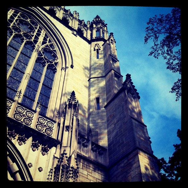 Checked in at Princeton University Chapel