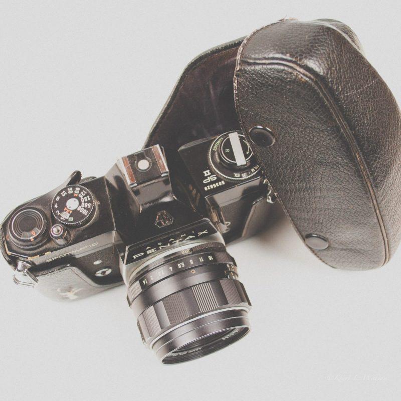 Asahi Pentax Spotmatix SP II, Camera, Old Thing, Memories