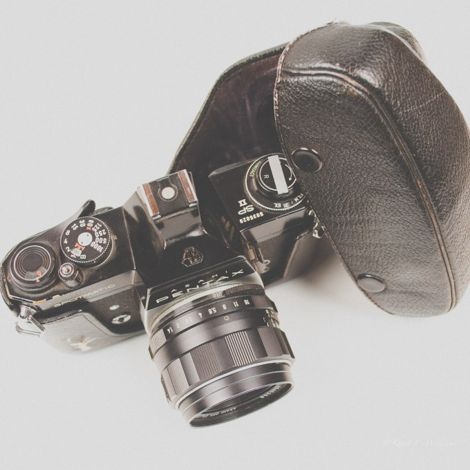 Asahi Optical Co. Pentax Spotmatic SP II, Camera, Old Thing, Memories