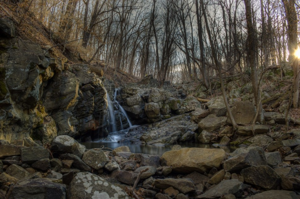 Kugler Woods Waterfall