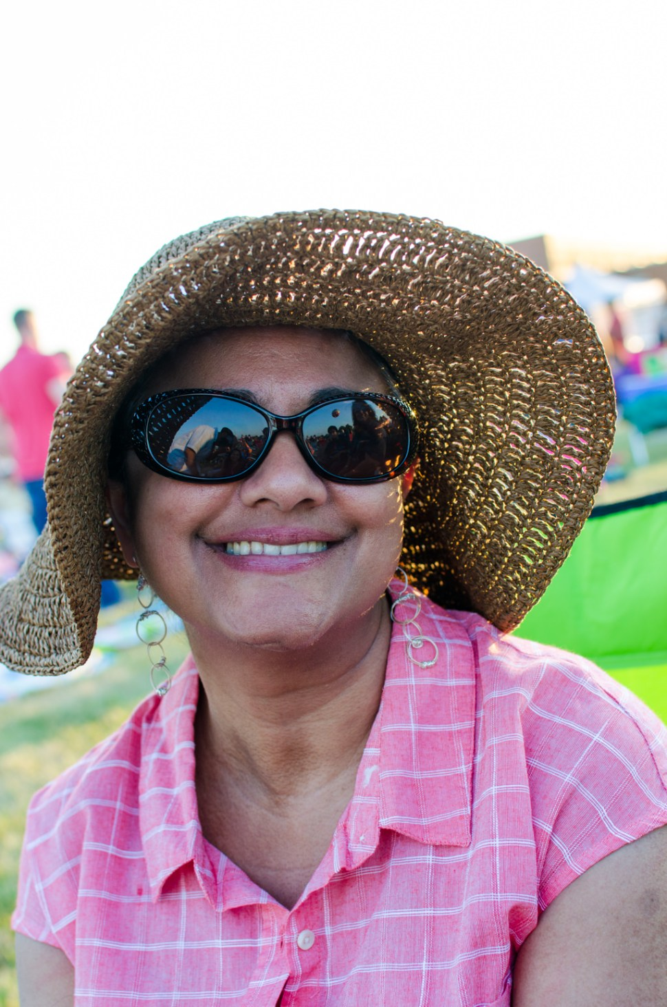 woman, hat, sunglasses,Independence
