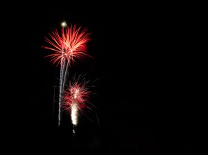 Independence Day Fireworks, Skillman, New Jersey %name