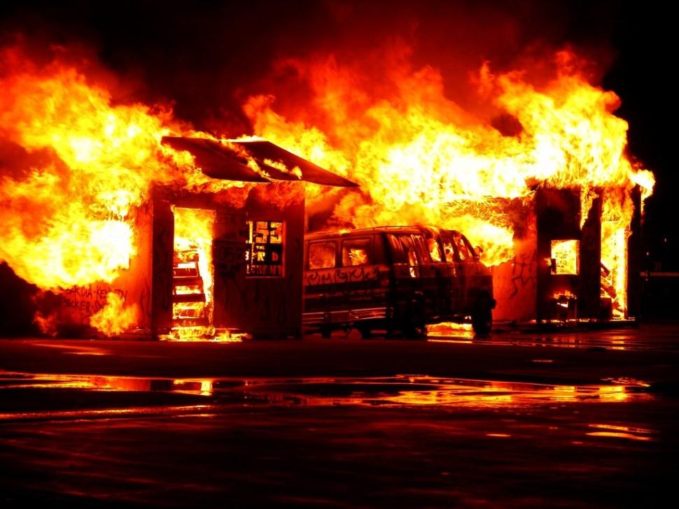 Image by Dawn Armfield on Unsplash, Fire, Destruction, Explosion, Anger, Terror