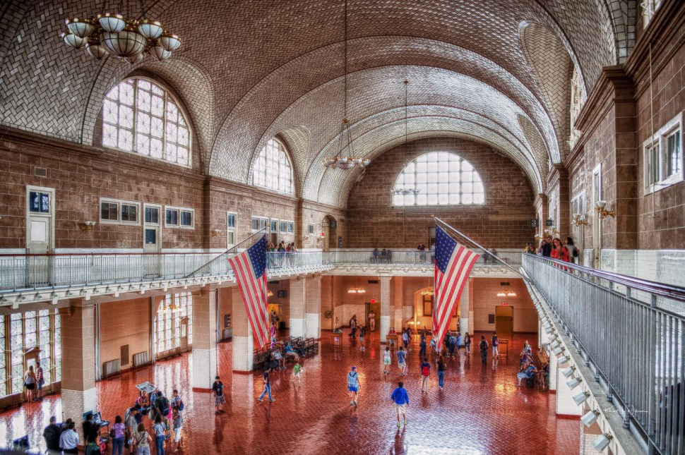 Ellis Island, People