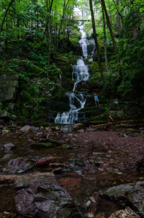 Bottom of Buttermilk Falls, Stokes State Forest | Nikon D5100 | Tokina 11-16 mm f/2.8