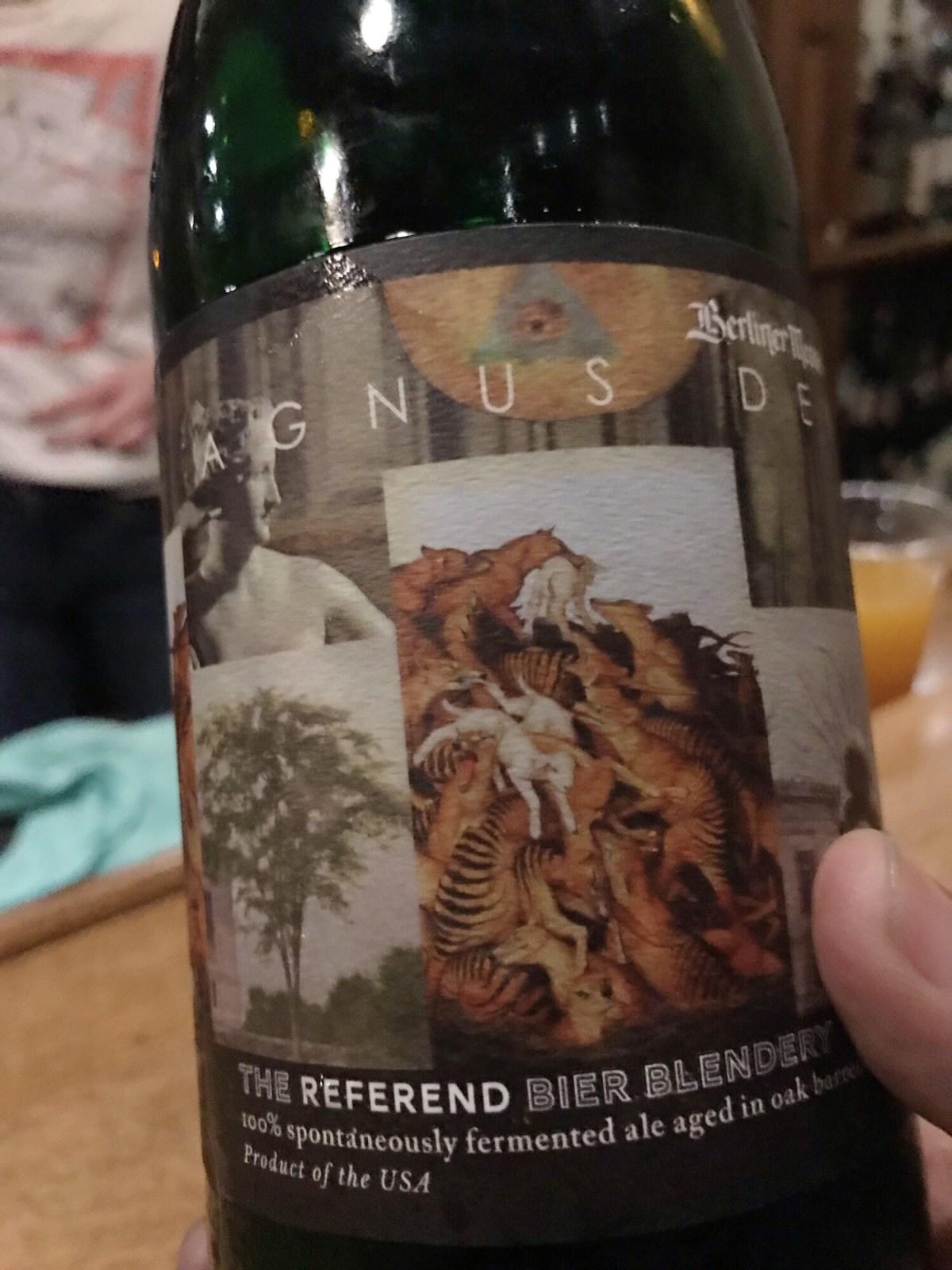 The Referend Bier Blendery Berliner Messe – Agnus Dei (2016 Harvest)