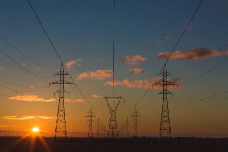 Power Lines, Sunset