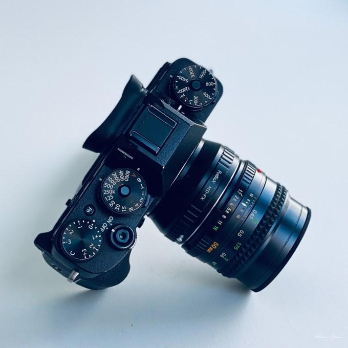 MD Rokkor-X 50mm F1.7 adapted to Fuji X-T2