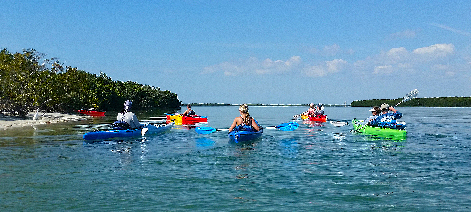 Kayaking is one of our favorite things to do.