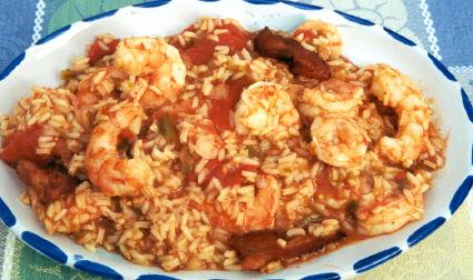 shrimp pilau