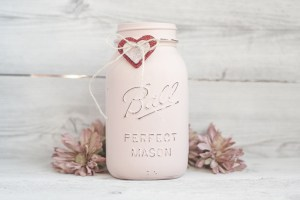 CRAFT: Painted Mason Jars