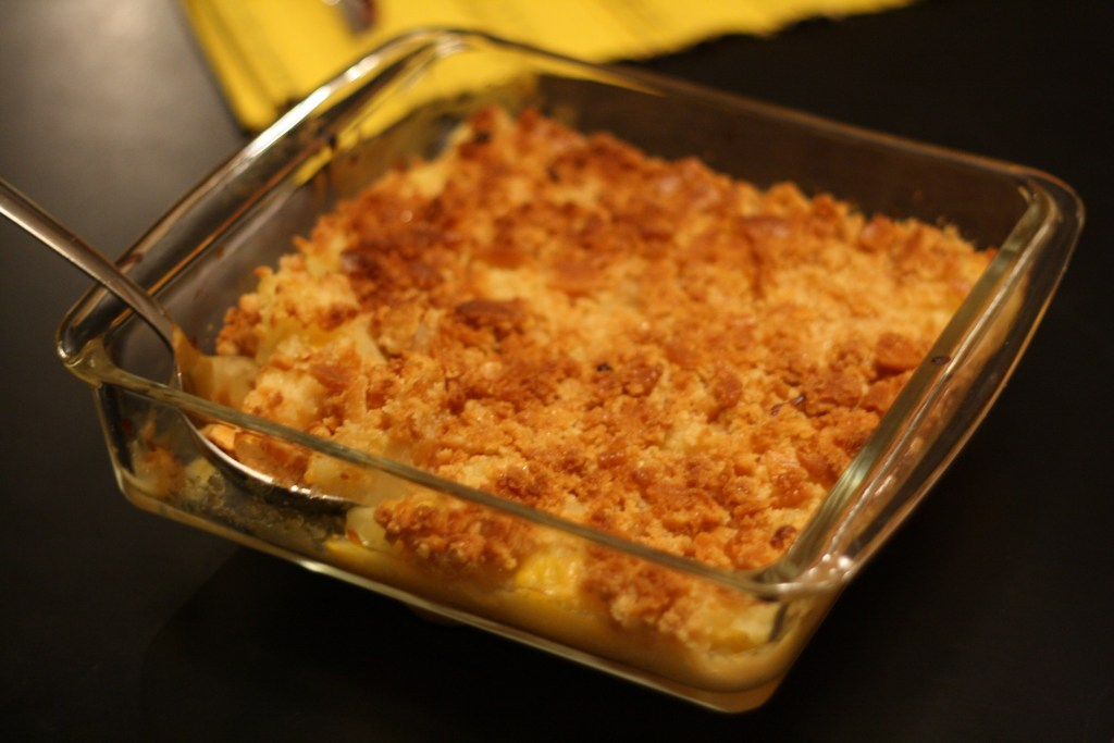 Recipe for Easy Pineapple Casserole