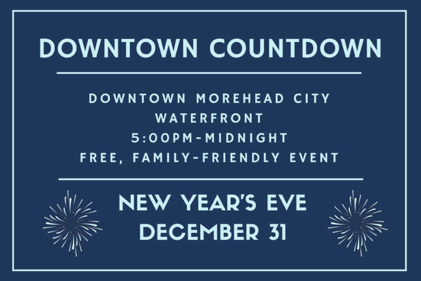 Morehead City • Downtown Countdown
