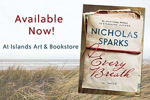 Nicholas Sparks Book Set in Sunset Beach Available Now!