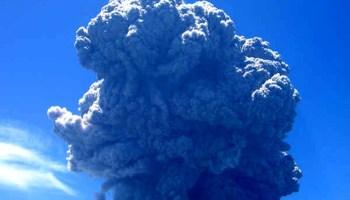 Image result for La Soufriere eruption in SVG