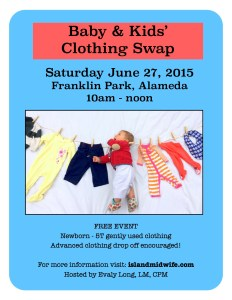 Baby Clothing Swap