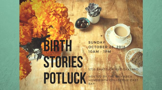 Birth Stories Potluck