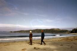 Experiment Bight, eastern end. Sand neck visible in the distance. Bill Hill.