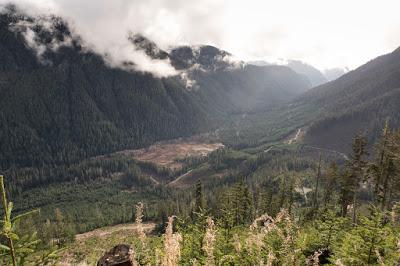 Queen Peak Vancouver Island, Hiking Lettington