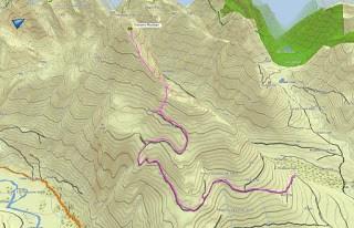 Kokummi Mountain, Sutton Range, Vancouver Island Map and GPS Route