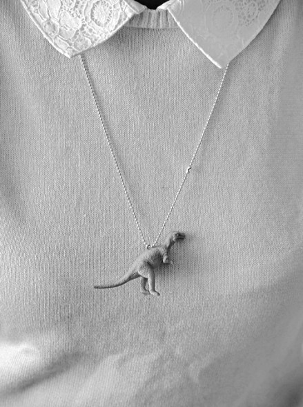 Shrunken Dino Necklace