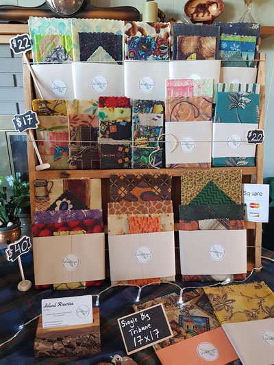 Vancouver Island made beeswax wraps by Island Reveries