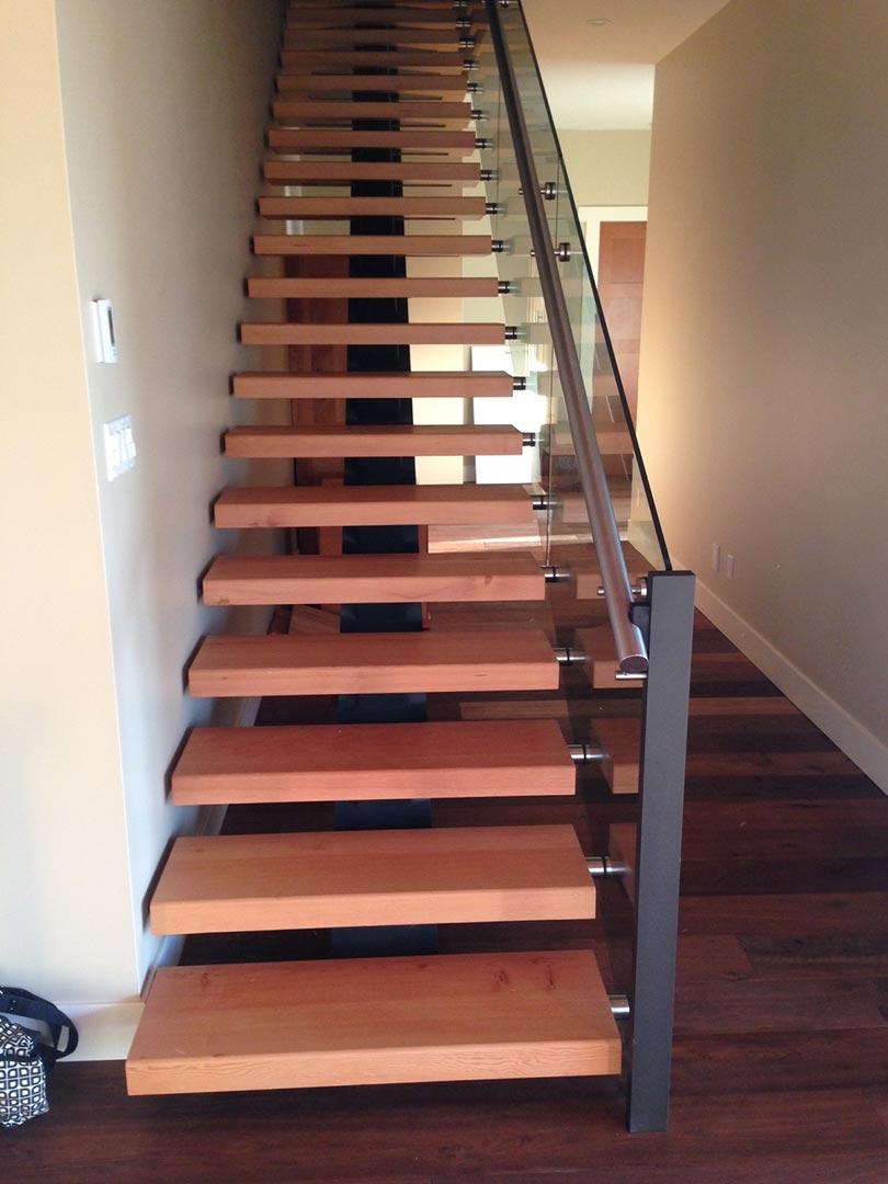 Custom Timber Stairs And Railings Island Timber Frame