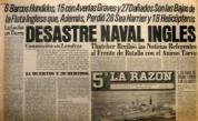 Malvinas desastre naval inglés