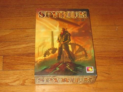 Spyrium box cover