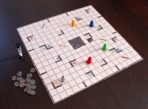 ricochet-robots-board